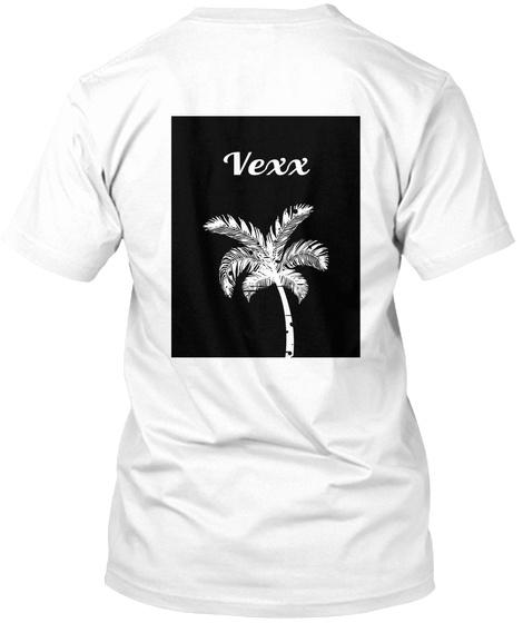 Vexx White T-Shirt Back