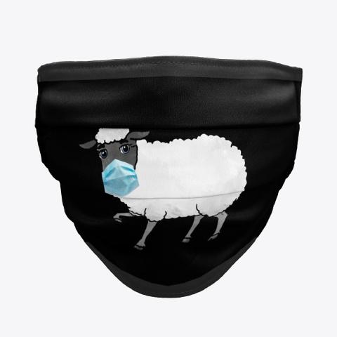 Sheep Masks Black T-Shirt Front