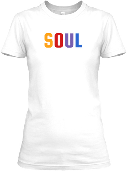 Soul Spectrum T Shirt (Men's) White Women's T-Shirt Front