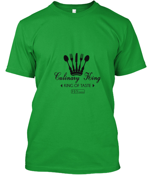 Culinary F.L.Y. Kelly Green T-Shirt Front