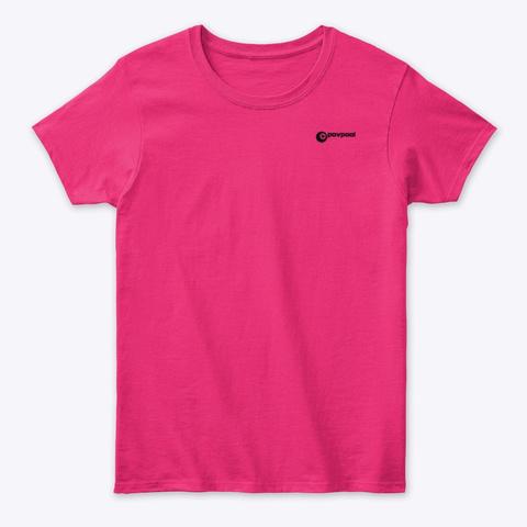 P.O.V Pool   Basic Heliconia T-Shirt Front