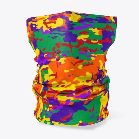 Rainbow Camo Standard T-Shirt Front