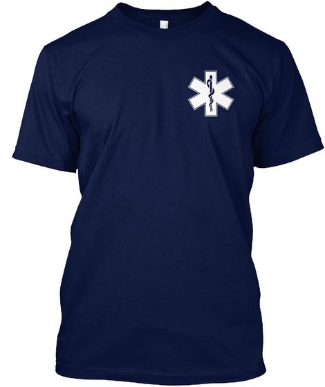 B.A.D.A.S.S. Navy T-Shirt Front