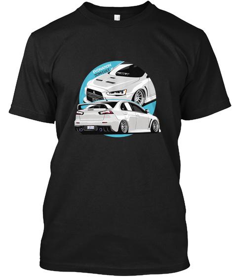 Evolution X Black T-Shirt Front