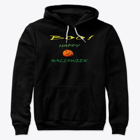 Halloween  Clothes  Black T-Shirt Front
