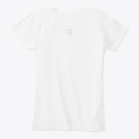 Embodiment Of Power White T-Shirt Back
