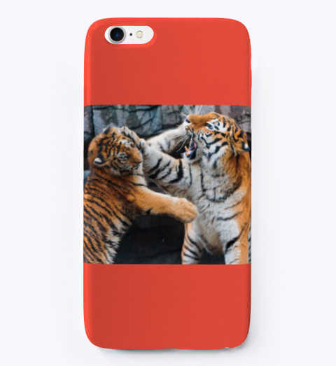 Tiger Case Red T-Shirt Front