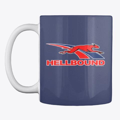 Blunt Hellbound Coffee Mug Dark Navy T-Shirt Front