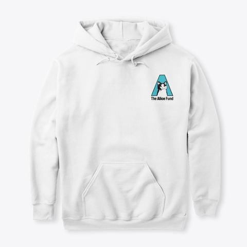 N/A White Sweatshirt Front