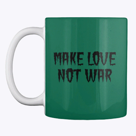 Mug For Tea And Coffee Forest Green T-Shirt Front