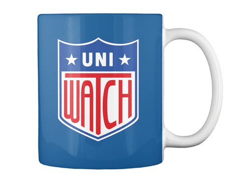 Uni Watch Dk Royal Mug Back