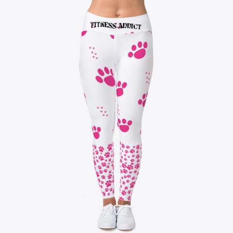 Pink Doggy Paws  Standard T-Shirt Front