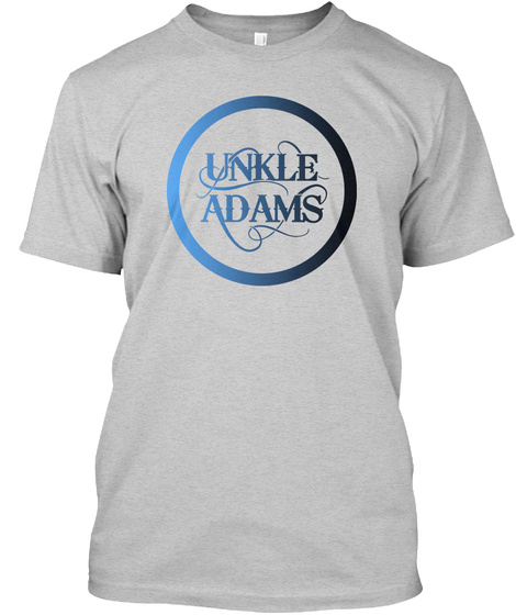 Unkle Adams Light Steel T-Shirt Front