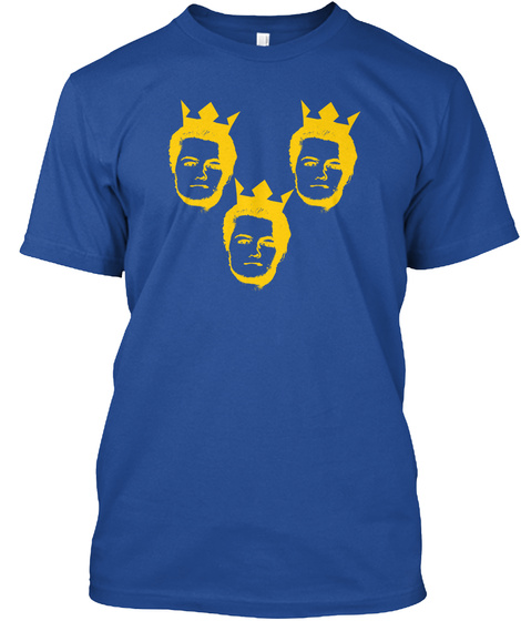 Trelander (Away) Deep Royal T-Shirt Front