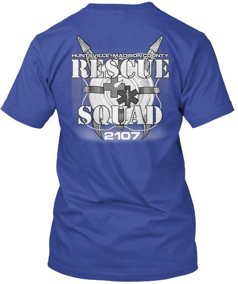 Hmcrsi 2017 Fundraiser Shirts Deep Royal T-Shirt Back