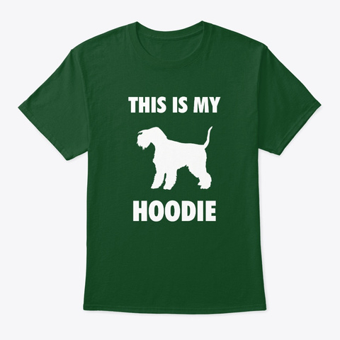 This Is My Lakeland Terrier Deep Forest T-Shirt Front