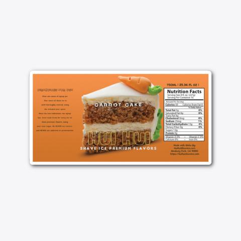 Carrot Cake Standard T-Shirt Front