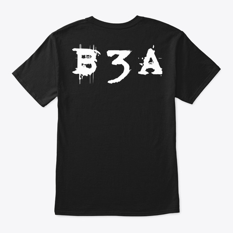 Bandit 3000 Alpha 1st Edition Merch Black T-Shirt Back