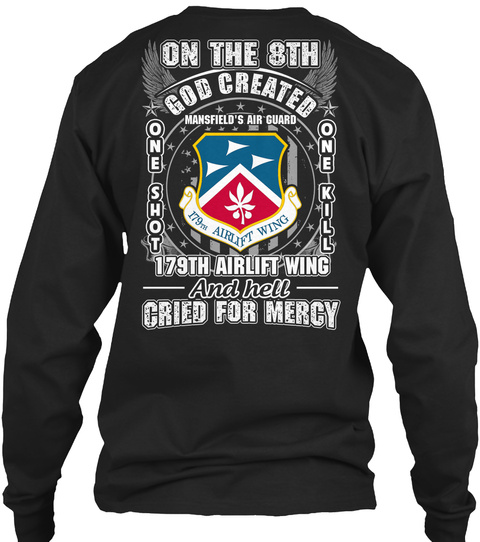 179th Airlift Wing LongSleeve Tee