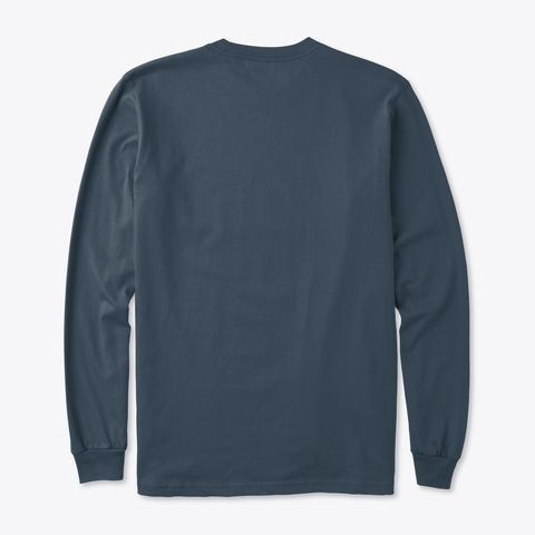 Be Yogaself   Long Sleeves Pacific T-Shirt Back
