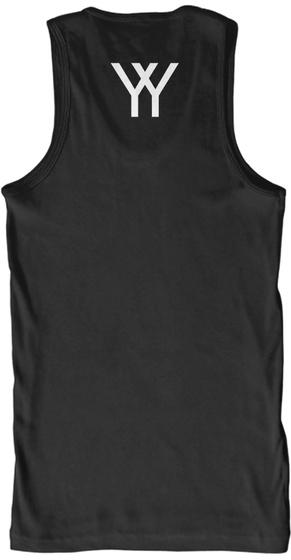 Y Y Black T-Shirt Back