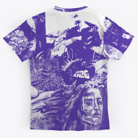 """E Motion""   All Over Tee Standard T-Shirt Back"