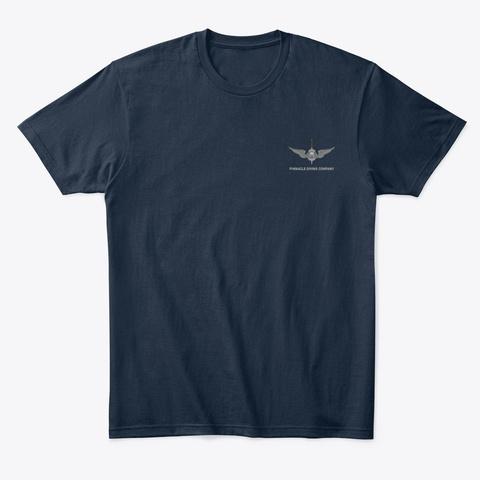 Pdc Explore Men's Shirt New Navy T-Shirt Front