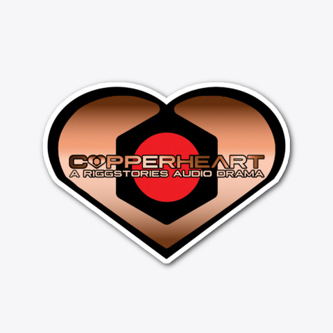 Copperheart Diecut Sticker Standard T-Shirt Front