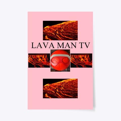 Lava Man Tv Poster Pink T-Shirt Front