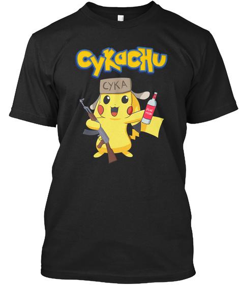 Cykachu Cyka T-Shirt Front