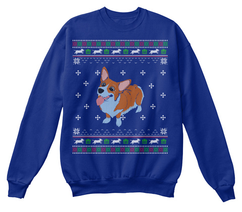 3887fa9c Corgi Dog Ugly Christmas Sweater Products from Pets Funny Ugly ...