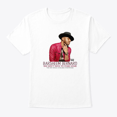 Barsheem Single Cover Art  White T-Shirt Front