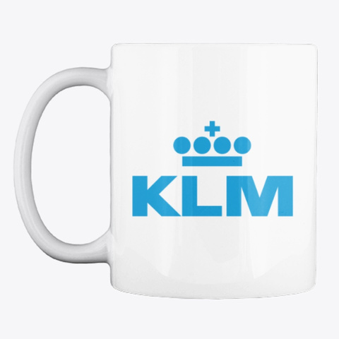 Klm   Mug White T-Shirt Front