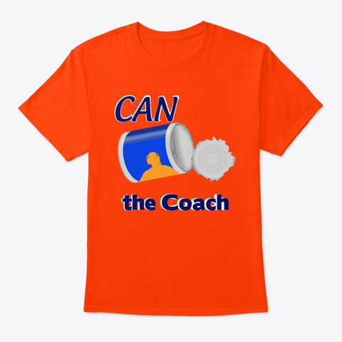N/A Orange T-Shirt Front