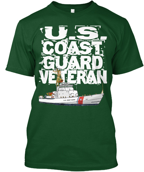 Cg Veteran T Shirt Design 4 Deep Forest T-Shirt Front
