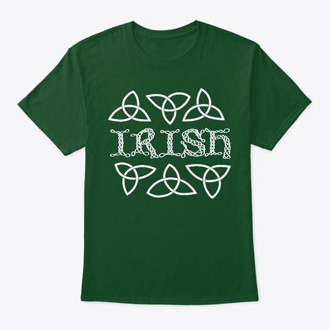 Irish Shirt Deep Forest T-Shirt Front