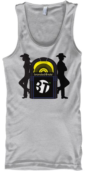 Jukebox Sport Grey T-Shirt Front