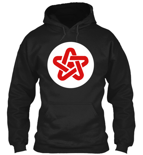 Danny Sexbang   5 Point Symbol 22 Black T-Shirt Front