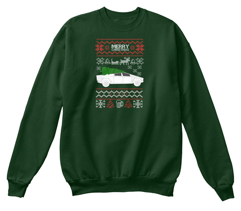 Ugly Truck Deep Forest  T-Shirt Front
