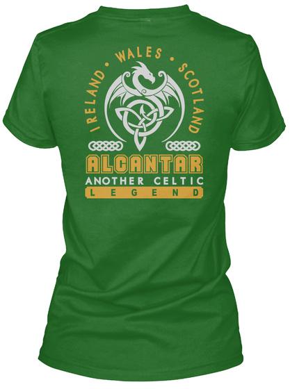 Alcantar Another Celtic Thing Shirts Irish Green T-Shirt Back