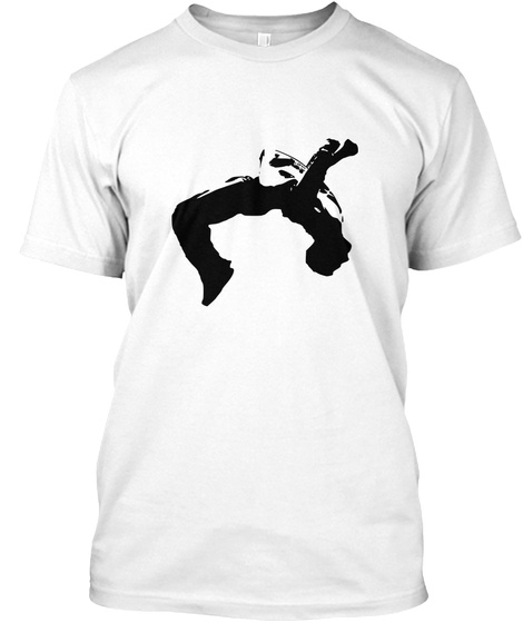 Parkour The World White T-Shirt Front