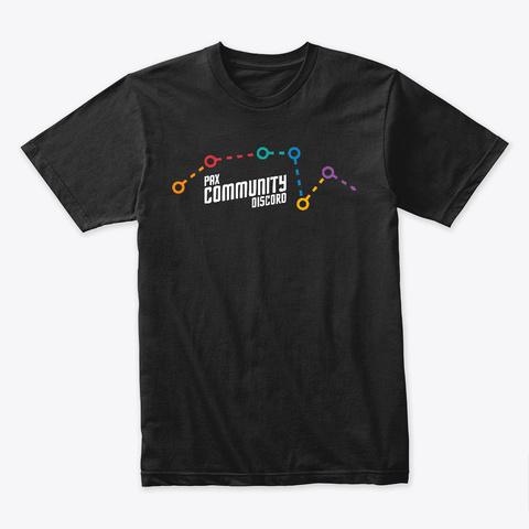 Pax Community Discord 2019 Classic Tee Black T-Shirt Front