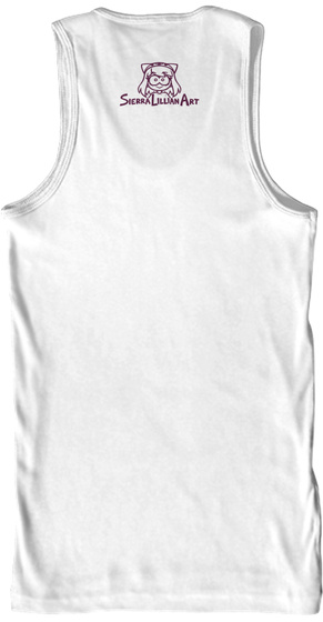 Sierralilliamart White T-Shirt Back