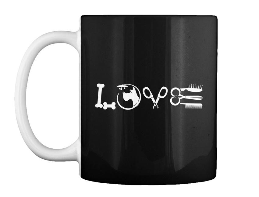 miniature 7 - Love Dog Groomer - Gift Coffee Mug