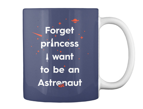 Forget Princess 3 Mug [Int] #Sfsf Dark Navy Mug Back