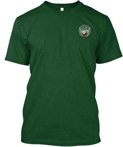 My Cowboy Ways   Ltd Tee Forest Green  T-Shirt Front