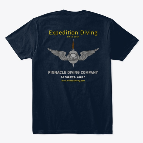 Pdc Expedition Men's Shirt New Navy T-Shirt Back