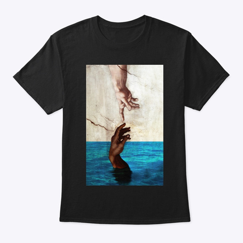 Salvare Adamo Black T-Shirt Front