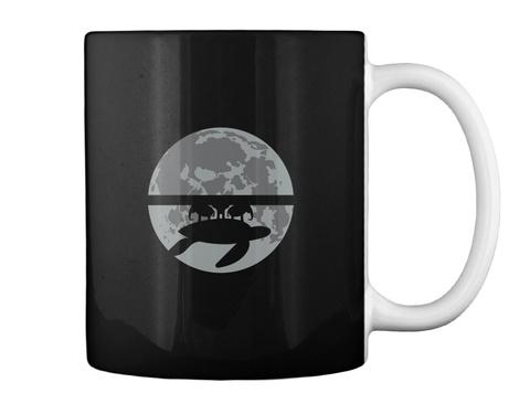 Flat Earth Eclipse 1 Mug [Int] #Sfsf Black Mug Back