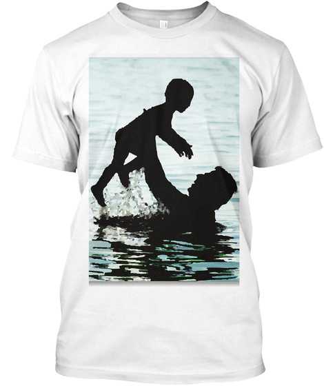 Father Of The Year White T-Shirt Front